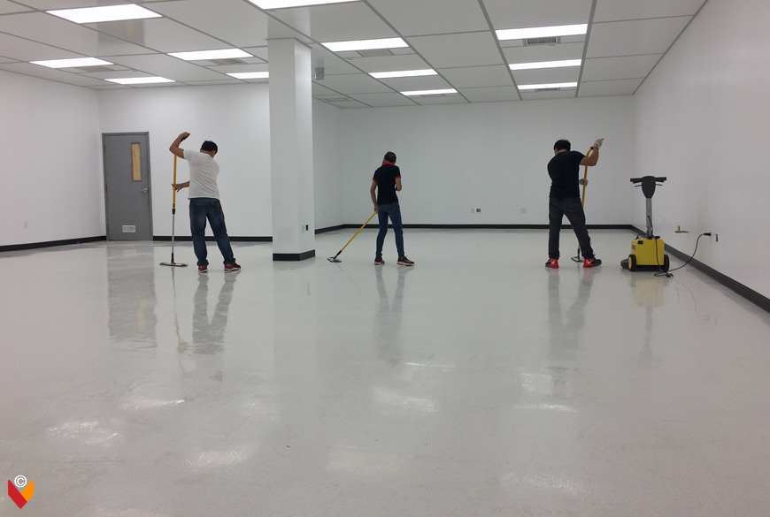 Cleaning of Premises